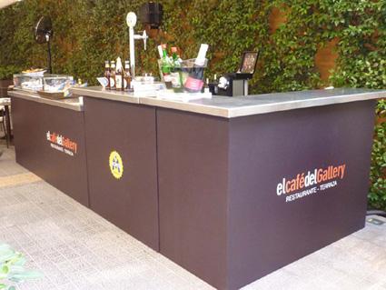 La Terraza del Restaurante del caf� del Gallery estrena Barra al aire libre | Caf� del Gallery